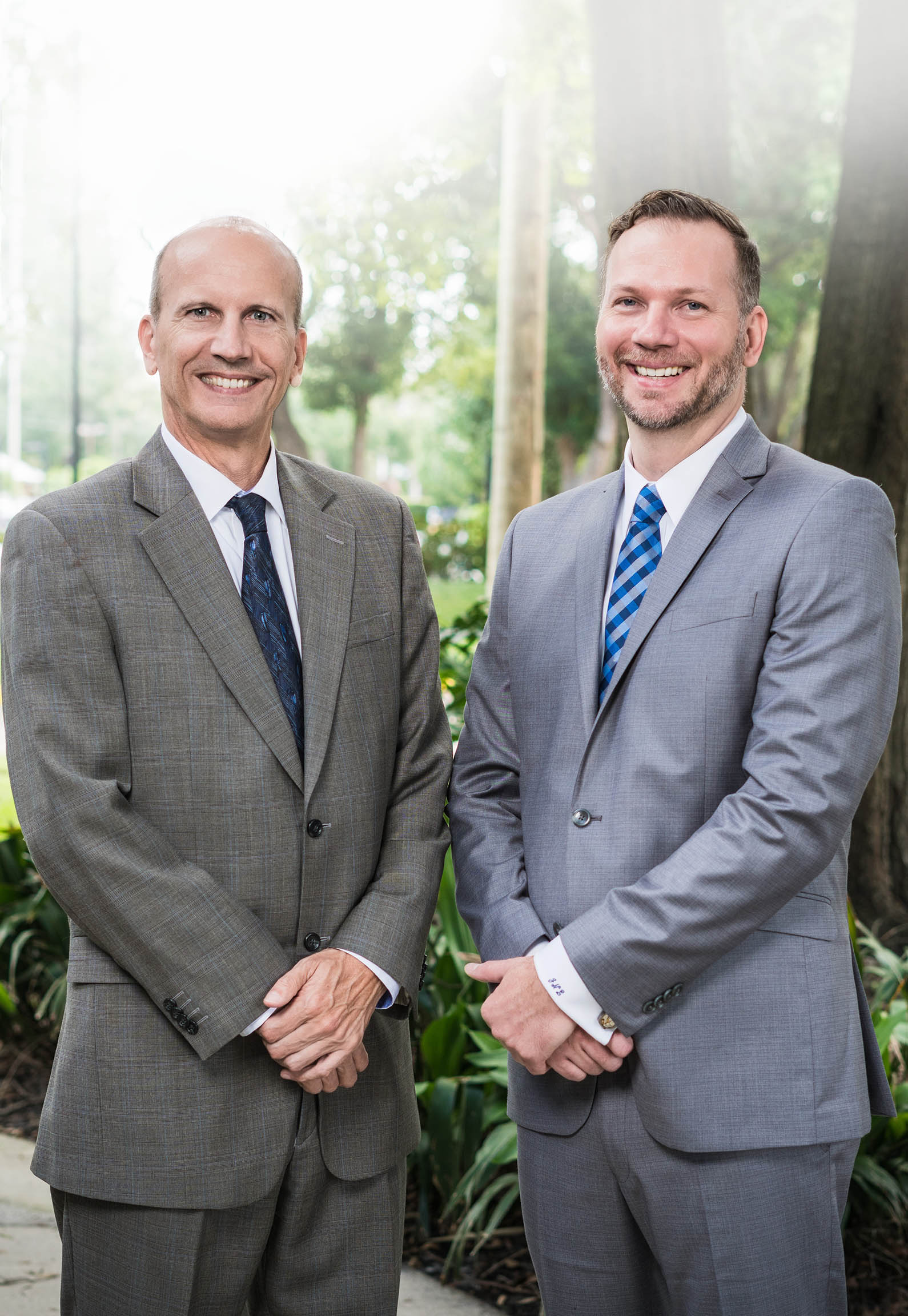 Jeff Starker and Joel Leppard of Bengal Law Personal Injury Attorney Orlando